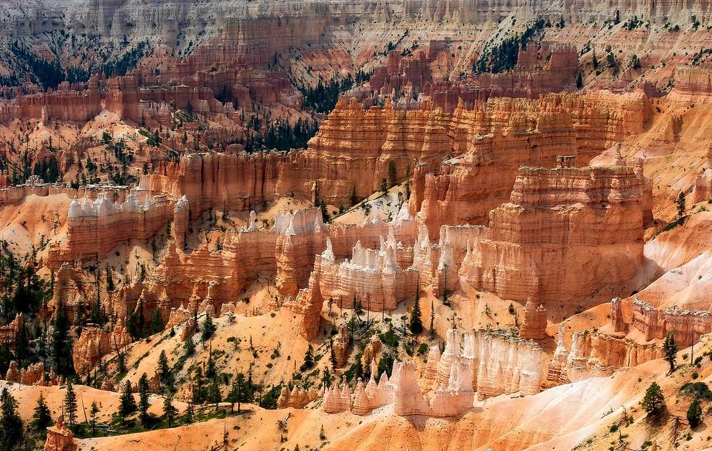 Amphitheater; Bryce Canyon National Park; Utah; USA