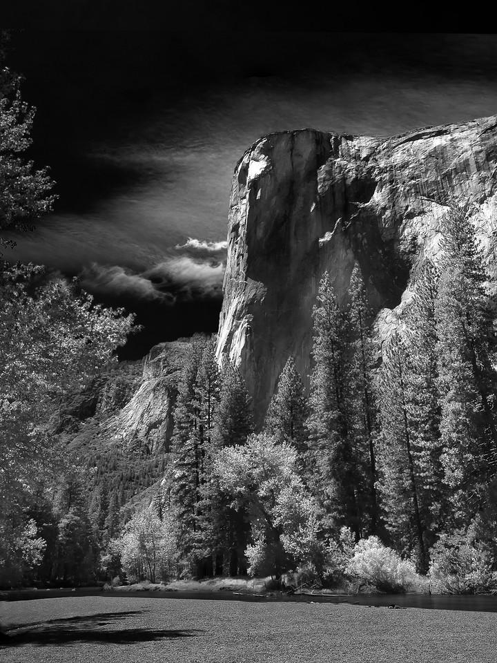 El Capitan; Cathedral Beach; Yosemite National Park; California; USA