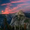 Half Dome; Glacier Point; Yosemite National Park; California; USA