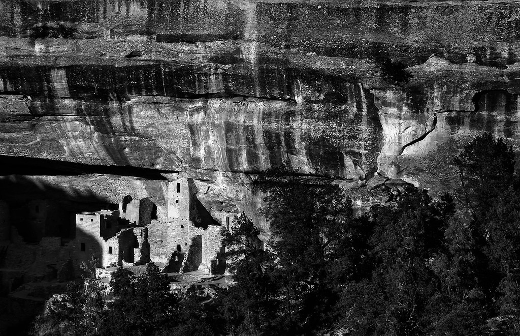 Cliff Palace; Mesa Verde National Park; Colorado; USA