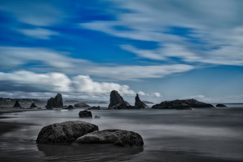 Bandon Beach; Oregon; USA