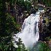 Upper Falls;  Yellowstone National Park; Wyoming; USA