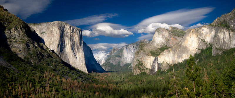 Yosemite Valley; Tunnel View; Yosemite National Park; California; USA