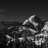 Half Dome; Olmsted Point; Yosemite National Park; California; USA