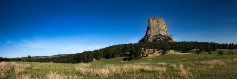 Devils Tower National Monument; Wyoming; USA