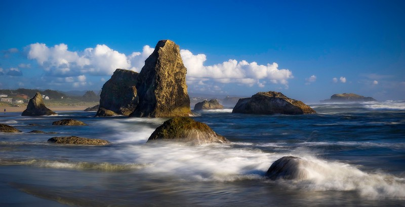 Bandon Beach; Oregon: USA