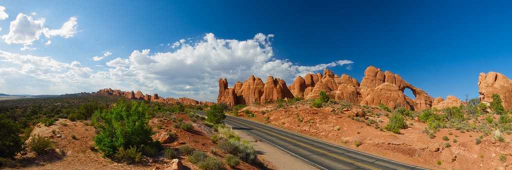 Skyline Arch; Arches National Park; Utah; USA