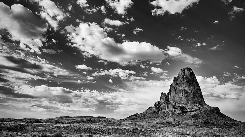 Shiprock; Monument Valley; Arizona; USA