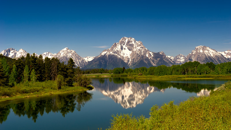 Grand Teton National Park; Wyoming; USA