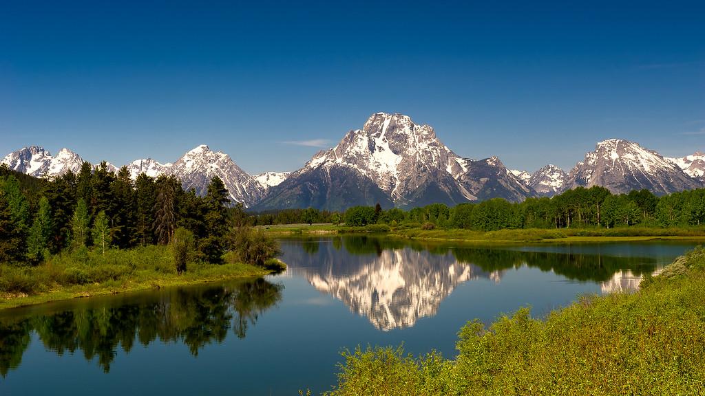 Grand Teton National Park; Wyoming; USA