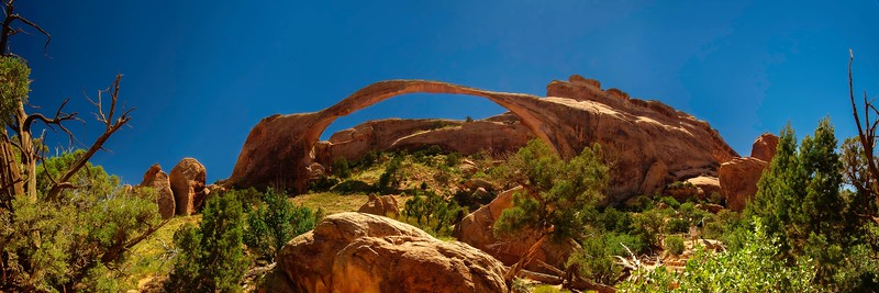 Landscape Arch; Arches National Park; Utah; USA