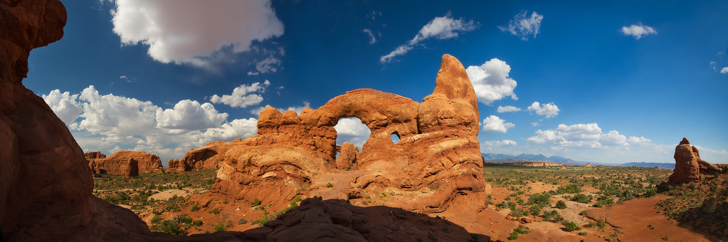 Turret Arch; Arches National Park; Utah; USA
