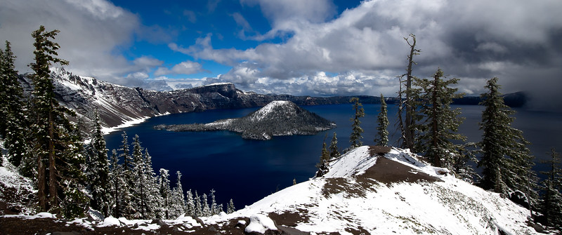 Crater Lake; Oregon; USA