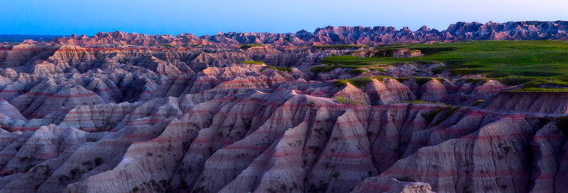 Badlands National Park; South Dakota; USA