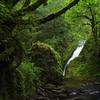 Bridal Veil Falls; Columbia River Gorge; Oregon; USA