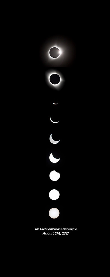 The Great American Solar Eclipse Composite