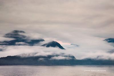 Ocean clouds