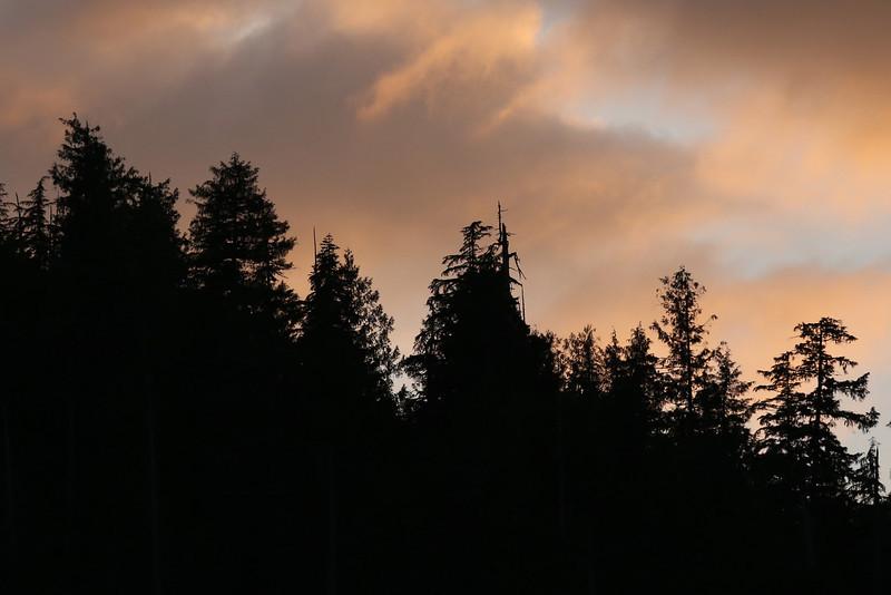 Sunset in Bishop Bay