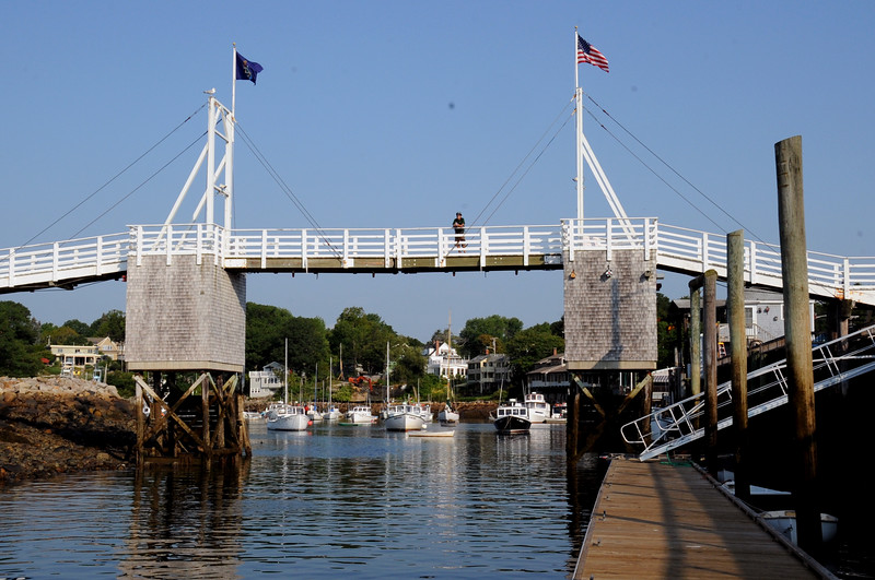 Perkins Cove Bridge Ogunquit Maine