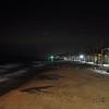 Oceanside Ca beach at night