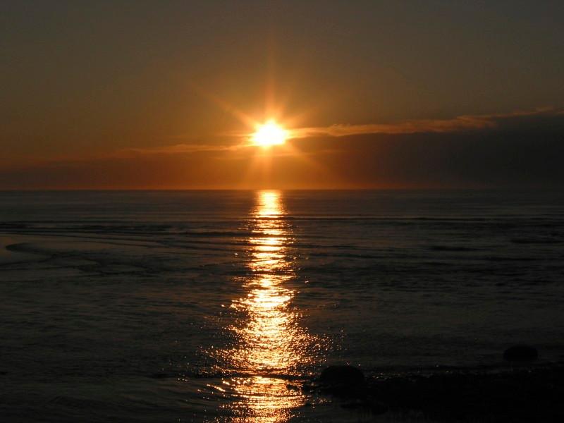 Sunset - Delmar California
