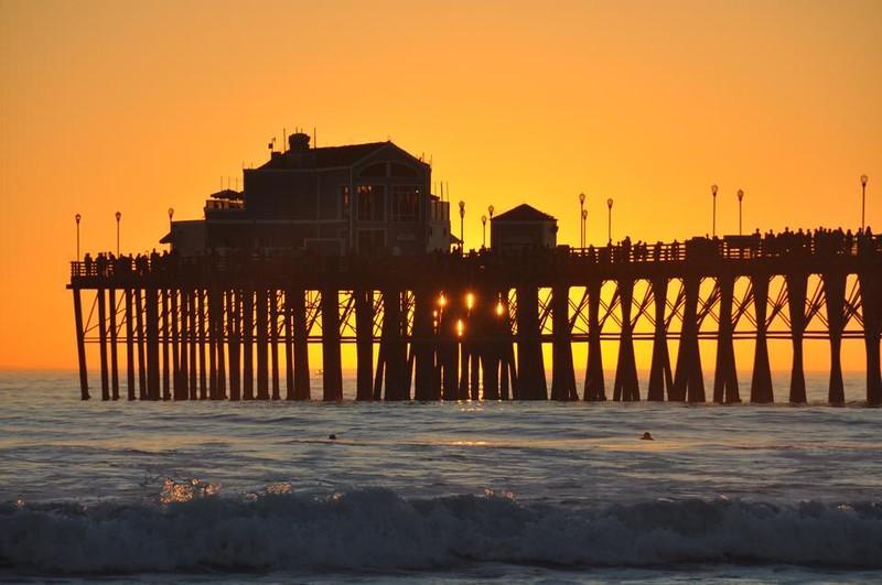 Sunset Oceanside Pier