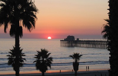 Sunset Oceanside Pier