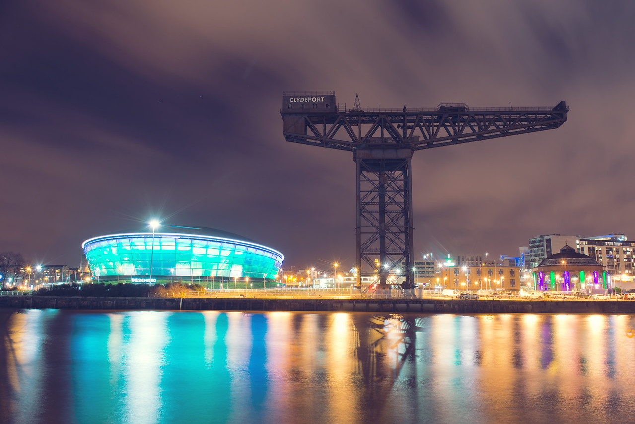 River Clyde at Night