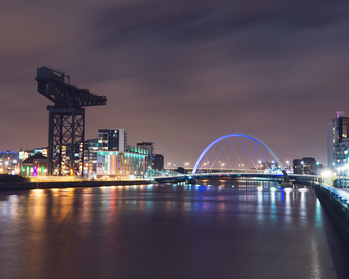 Clydeport and the Squinty Bridge