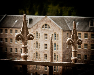 New Lanark Railings