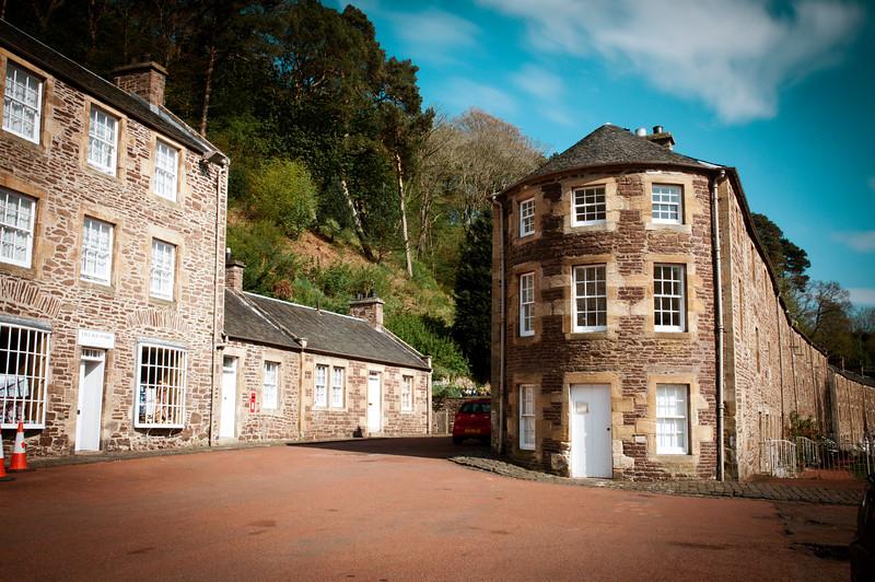 New Lanark Architecture