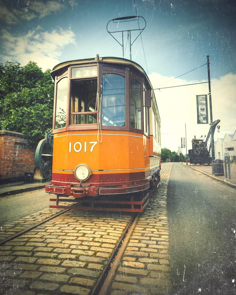 Summerlee Heritage Park Tram