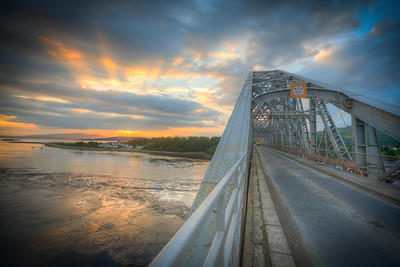Connel Bridge Sunset