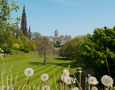 Princess Street Gardens Lawn