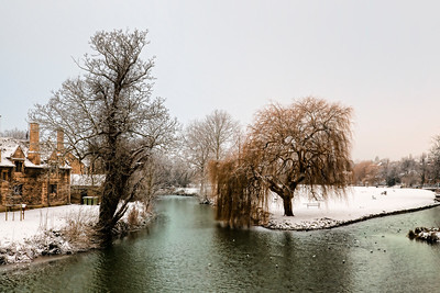 Stamford in the Winter
