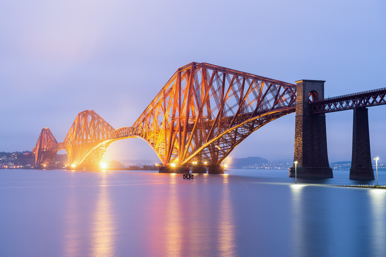 The Blue Hour over the Forth