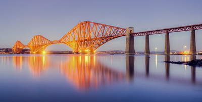 Forth Bridge Sunset