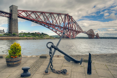 Forth Bridge at North Queensferry