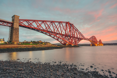 Pink Skies over North Queensferry