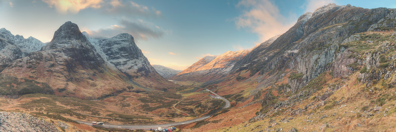 Glencoe Winter Landscape