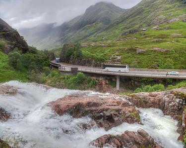 Falls of Glencoe and Aonach Eagach