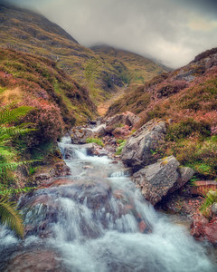 Glencoe Mountain Stream