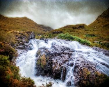 Glencoe Waterfall
