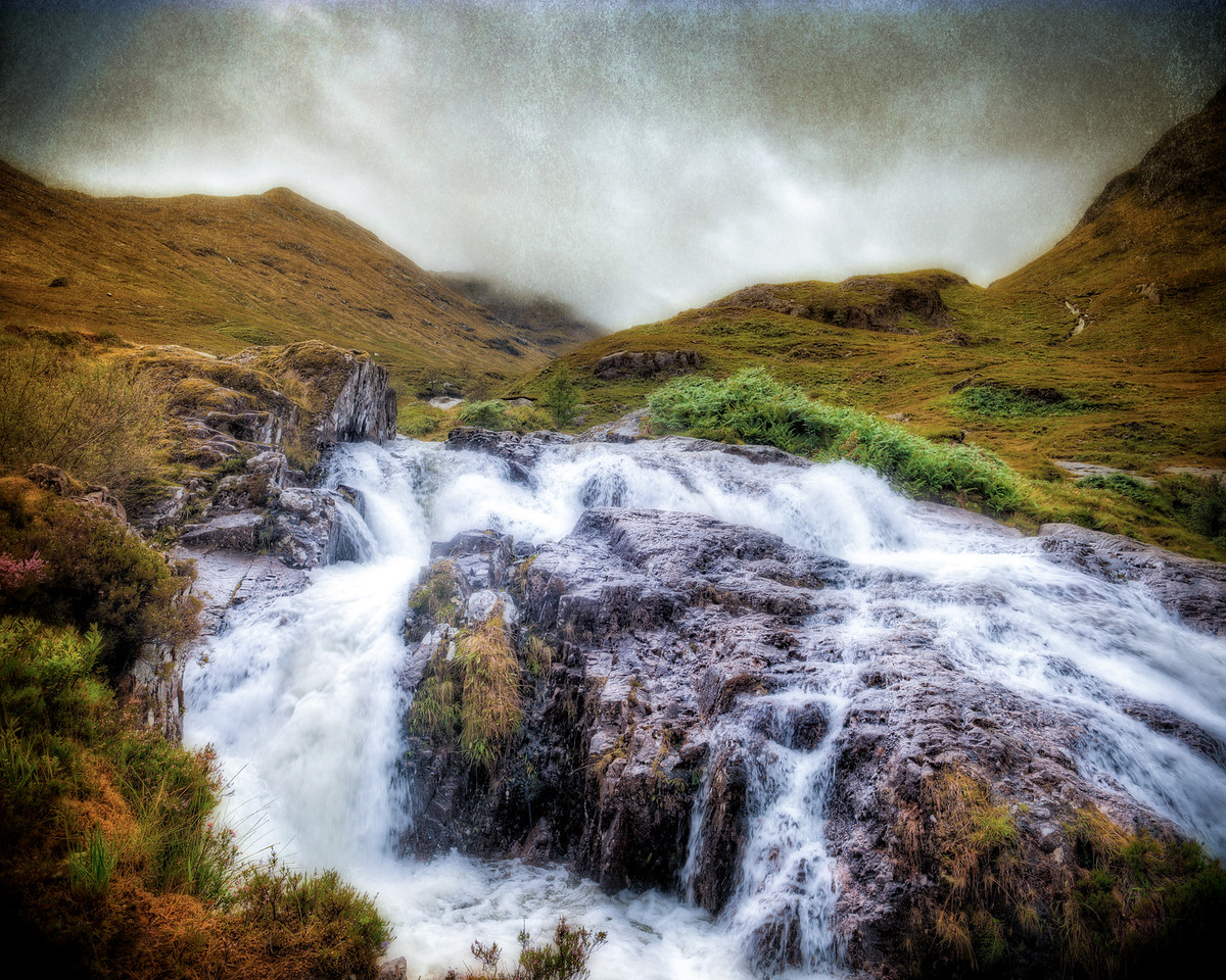 Glencoe Waterfall