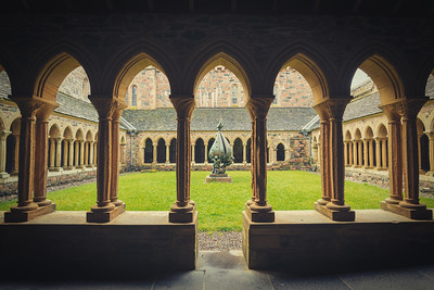 Iona Abbey Quadrangle