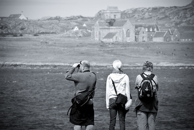 Iona Tourists