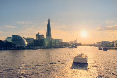 River Thames Sunset