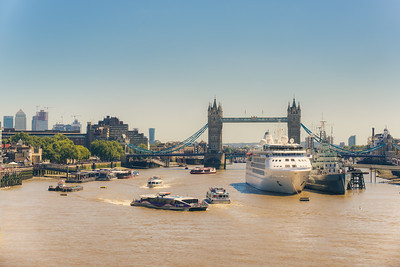 Busy River Thames
