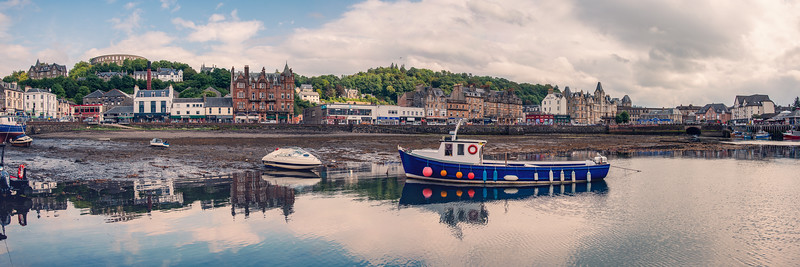Oban Harbour Low Tide