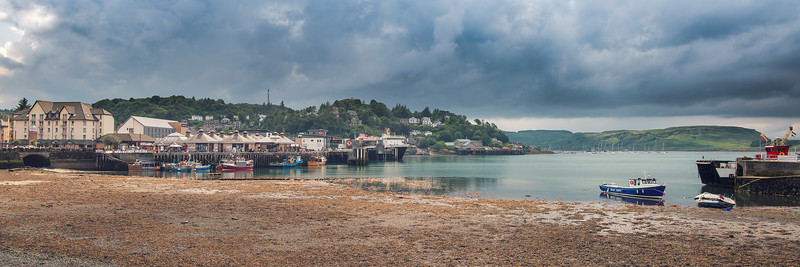 Oban Harbour Panorama